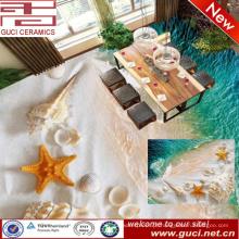 manufatura da porcelana 3D que imprime a telha de revestimento cerâmica para a sala de visitas