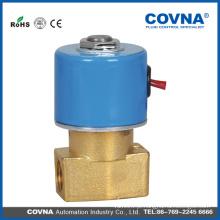 Mini válvula solenóide de água de 2,5 mm 2/2 vias de ação direta