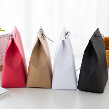 Macaroon Color Small Gift Packaging Paper Bag