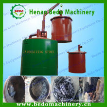Energy saving continuous smokeless carbonization oven/carbonizing oven for bamboo charcoal