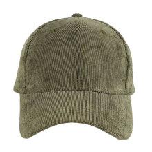 Оптовая дешевые высокое качество простой вельвет бейсбольная кепка