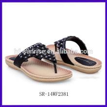 SR-14WF2381 2014 China Großhandel flache Sandalen Frauen Mode Schuhe Frauen Sandalen neue Modell Frauen Sandalen