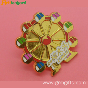 Customized Hard Enamel Plated Metal Badge