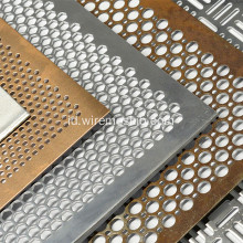 Hot Dip Galvanized Perforated Metal Mesh