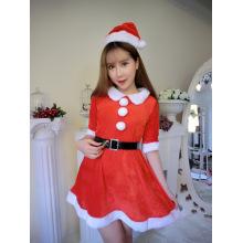 Рождество Рождество женское белье Рождество Показать Санта Клаус Cosplay Uniform