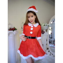 Girl Christmas Lingerie Christmas Show Santa Claus Cosplay Uniform