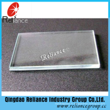 Verre ultra clair de 3.5mm / verre de fer bas / verre transparent / verre en cristal avec ce OIN