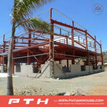 Grande structure en acier pour atelier