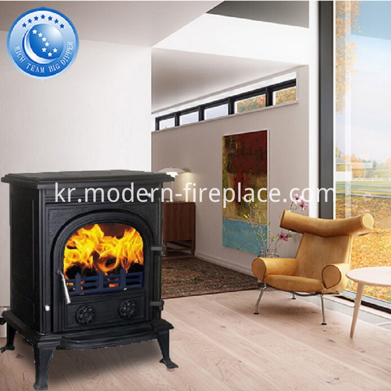 12KW Wood Burning Cast Iron Stoves