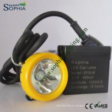 Lâmpada principal da mineração do diodo emissor de luz do CREE 3W, luz principal, lâmpada de tampão da segurança