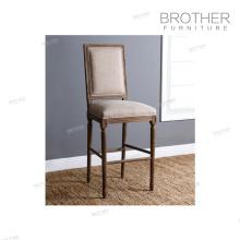 Excelente calidad nueva silla de barra de muebles de dormitorio de tela moderna nórdica