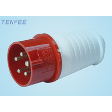Industrial Plug 3P+E+N IP44