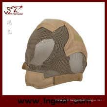 Masque du prétoire Rampage tactique Airsoft Stalker