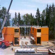 Prefab Steel Structure Building Modular Building Office Container Maisons préfabriquées