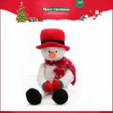 Christmas Plush Doll Snowman Promotional Gift 2016