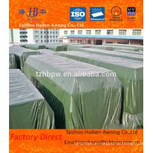 Hoja revestida del PVC del encerado con toda la especificación para el uso de los minerales