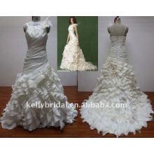 Für 2012 reizvolles indisches reales Hochzeitskleid W112