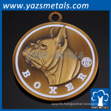 Factory custom antique pet id tag pendant