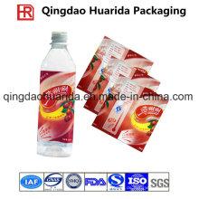 PVC / Pet Shrink Label für Flaschengetränke Verpackung mit Kundenlogo