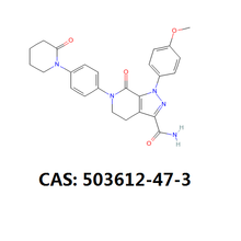 Apixaban Api Powder 99% Cas 503612-47-3