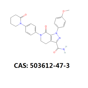 ODM for Gout Treatment Powder Apixaban API Apixaban intermediate cas 503612-47-3 export to Costa Rica Suppliers