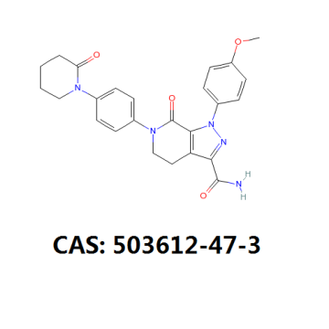 Apixaban Api Powder 99٪ Cas 503612-47-3