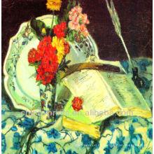 Pintura al óleo abstracta de la lona de la alta calidad para la decoración