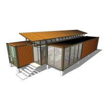 Well-Designed Solar Power Vocation Trailer Prebuilt Modular Container House