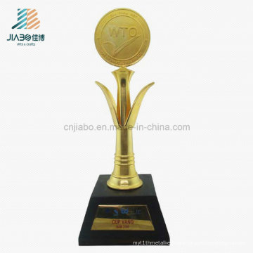 High Quality Casting Metal Crafts Souvenir Decoration Custom WTO Trophy