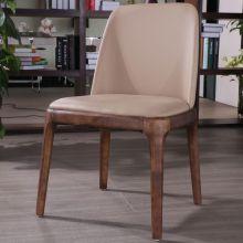 Chaise de salle à manger Chine fabrication bois Hotel