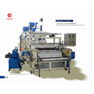 1000mm Deux vis LLDPE Stretch Film Machine