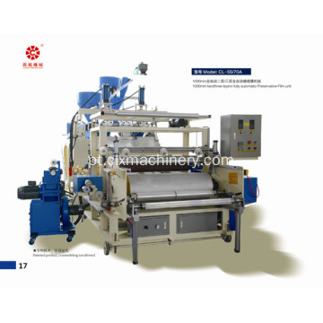 Dois parafusos LLDPE Stretch Film Machinery