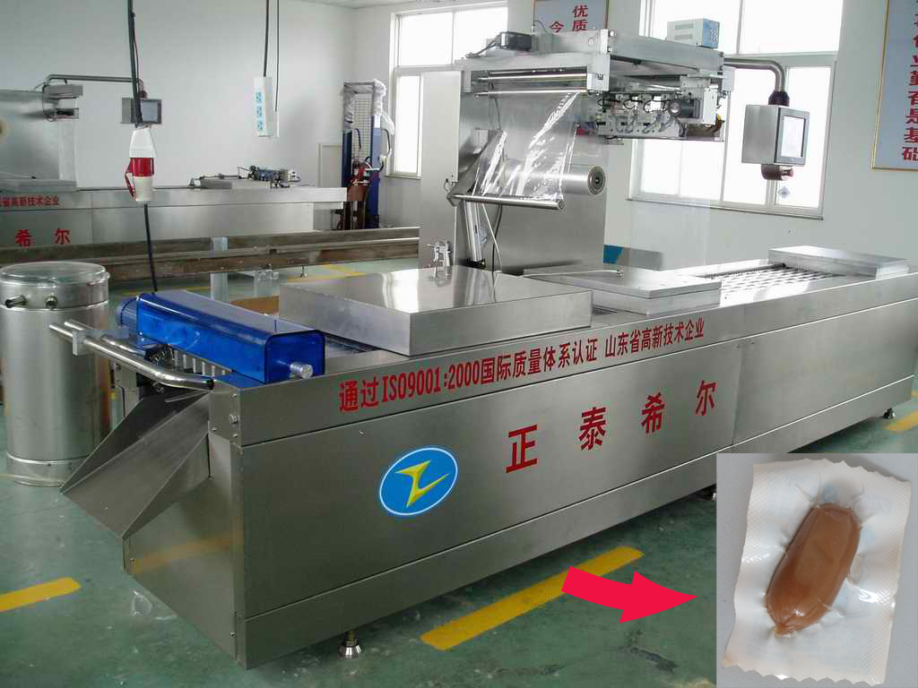 Tensibility Vacuum Packing Machine for Snack &Sausages