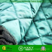 Tecido de padrão de diamante acolchoado para jaquetas acolchoadas