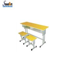 Salle de classe utilisé bureau chaise d'école bureau d'école confortable bureau d'école et chaise