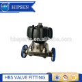 manual sanitary stainless steel clamp diaphragm valve with EPDM +PTFE