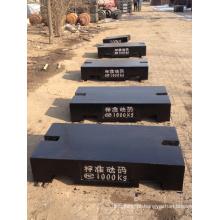 Escala do caminhão de calibração de peso de teste de 1000 kg