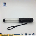 multi-function novelty light up metal plastic traffic baton