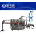 Máquina de rellenar del agua pura de la botella plástica automática 4000bph en empaquetadora