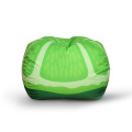 Couleur verte Fruit pattern Chaise de sac de plancher