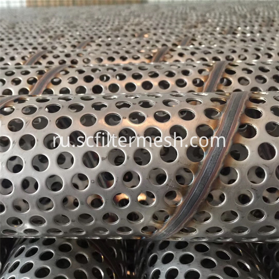 Stainless Steel Punched Spiral Tube