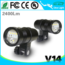 Professional photography and videography LED strobe light diving