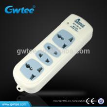 Hecho en China cable de extensión eléctrico del adaptador de 2 pernos 3 pernos