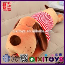 Le dernier en peluche personnalisé en gros animaux chien husky jouet en peluche oreiller