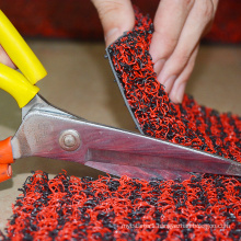 Korea market eco-friendly spike backing coil car mat
