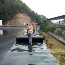 Láminas de geomembrana de plástico HDPE Revestimientos para estanques de piscicultura