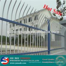 Schlussverkauf!!! China Lieferant Zink Stahl Zaun / Sicherheit Zaun Netz / verzinkte Stahl Zaunpaneele