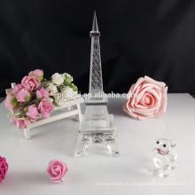 Recuerdos de la boda de la torre eiffel de cristal de cristal CM-002