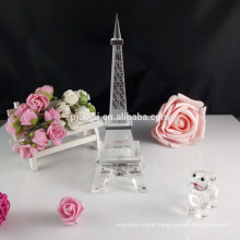 Crystal glass eiffel tower wedding souvenirs CM-002