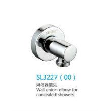 Codo de unión de pared para duchas ocultas